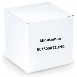 Minuteman EC1500RT2UNC 1-3kVA True Online Rack/Tower, Standard Runtime UPS with SNMP Card