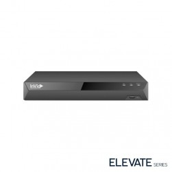 InVid ED3A-8-3TB 8 Channel 4K TVI/AHD/CVI/Analog/IP Universal Port Digital Video Recorder, 3TB