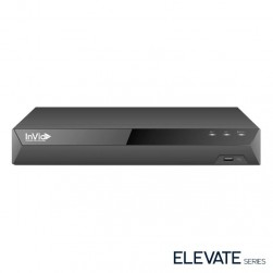 InVid ED1A-8-10TB 8 Channel TVI/AHD/CVI/Analog/IP Universal Port Digital Video Recorder, 10TB