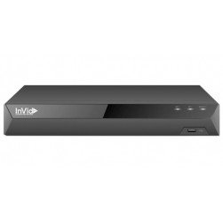 InVid ED2A-8-8TB 8 Channel 4K TVI/AHD/CVI/Analog/IP Universal Port Digital Video Recorder, 8TB