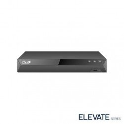 InVid ED3A-8-10TB 8 Channel 4K TVI/AHD/CVI/Analog/IP Universal Port Digital Video Recorder, 10TB