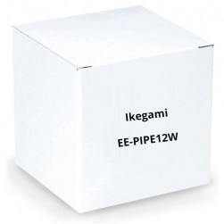 """Ikegami EE-PIPE12W 1"""" Diameter Pipe, 12"""" Length, White for Plates: EE-PL-BB1W, EE-CMPL3W"""
