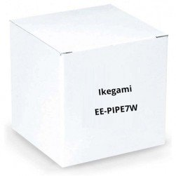 """Ikegami EE-PIPE7W 1"""" Diameter Pipe, 7"""" Length, White for Plates: EE-PL-BB1W, EE-CMPL3W"""
