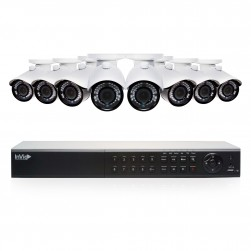 Cantek Plus EF8B2TB 8 Camera HD TVI Bullet Security Camera System