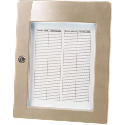 Alpha ELD1N Sep Lighted Directory Nickel