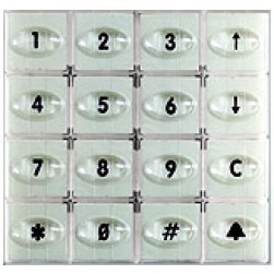 Alpha EMDB1B Keypad Module-Digit Dial-Brown