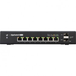 Ubiquiti ES-8-150W Networks EdgeSwitch 8-Port 150-Watt Managed PoE+ Gigabit Switch with SFP