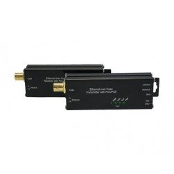 American Fibertek ET1100CP-R-MT Receiver of 10/100Base-TX Ethernet Over Coaxial with PoC