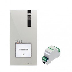 Comelit EX-DSQE Doorbell (Mechanical) Camera Add-On With Switcher (1405) - HFX-7000 / 9000 Series