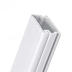 """Wire Trak FE0001200RG 2"""" X 1"""" Solid Duct, Gray"""