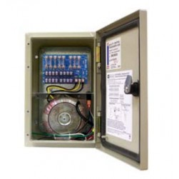 Altronix WPTV248300UL 8 Output Outdoor-rated Power Supply, 24/28 VAC @ 12.5/10.0 Amp Fused Protected, NEMA 4/IP 65 Outdoor Cabinet, UL Listed