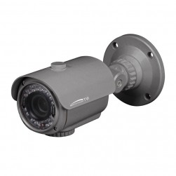 Speco HT7040T Intense IR HD-TVI 1080p Indoor/Outdoor Bullet Camera, 2.8-12mm Lens, Grey