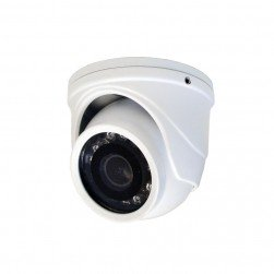 Speco HT71TW HD-TVI Mini IR Turret Camera with 2.9mm Lens - White