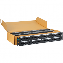 ICC ICMPP4860V 48-Port Category 6 Patch Panel - 6 Pack