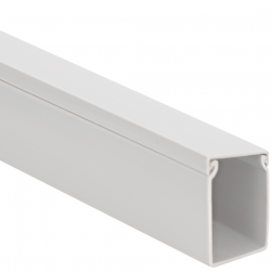 """ICC ICRWS226WH 2"""" X 2"""" Solid Wiring Duct White 20 Pack"""