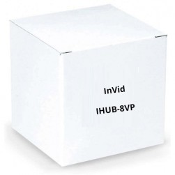 InVid IHUB-8VP Cat Cable Hub 8 Channel Provides Power up Cat Cable 750 Feet