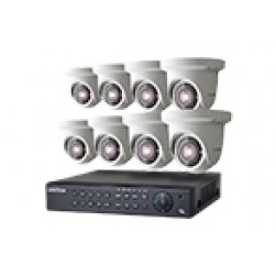 8 Camera IP System INVISION8