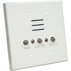 Alpha IS427CW 4 Wire-2 Gang Apartment Station-White