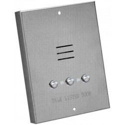 Alpha IS407S 4 Wire Apartment Station-Metal Buttons-Surface