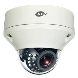KT&C KNC-p2DR28V12IR 2.1 Megapixel Outdoor IR Rugged IP Dome, PoE