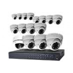 16 Camera Video Surveillance Kit