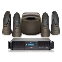 Bogen NEARSCAPES-1G44-1DSP Complete Outdoor Audio Speaker System with DSP Amplifier