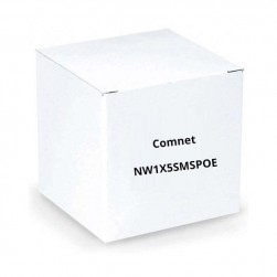 Comnet NW1X5SMSPoE Hardened Integrated Wireless Radio and SMS Switch