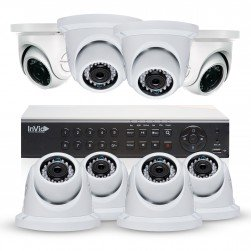 Cantek Plus NW8D2TB All Purpose 8 Camera TVI Dome Camera System