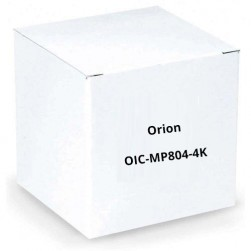 Orion OIC-MP804-4K 8 Input - 4 Output Multi-Viewer System, Full HD Resolution, Windows 7 Server