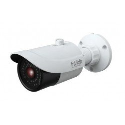 InVid PAR-P8BIR28F 8 Megapixel IP Plug & Play Outdoor Network IR Bullet Camera, 2.8mm Lens