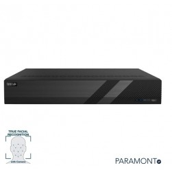 InVid PN1A-8X8F-6TB 8 Channel 4K NVR with 8 Plug & Play Ports, True Facial Recognition, 6TB