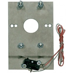Alpha PO402 Postal Release Switch+Plate