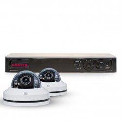 Cantek PT2MPTZ1TB Powerful 2 Channel Pan/Tilt/Zoom 1080P HD Security System