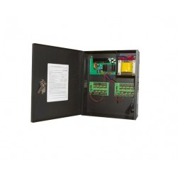 Samsung Security PWR-12DC-16-10 Large Enclosed 16-Output, 10 Amp 12VDC Power Supply