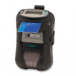"Panasonic PZ220BTMC Zebra 2"" Rugged Printer RW 220 with Mag Stripe Reader, Bluetooth, Includes Belt Clip"