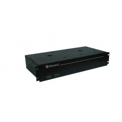 "Altronix R248ULCBI 8 Output Isolated Rack Mount Power Supply, 24 VAC @ 12.5 Amp, Isolated PTC Protected, 2U EIA 19"" Rack Mount Chassis, UL Listed"