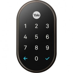Yale RB-YRD540-WV-0BP Nest x Yale Lock with Nest Connect, Oil Rubbed Bronze