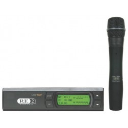 Bosch RE-2-510-C-A Wireless Handheld System Includes HTU2C-510 Transmitter, RE510 Super Cardioid Condenser Element, RE-2 Diversity Receiver, A Band