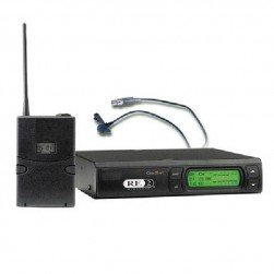 Bosch RE-2-L10-C-A Bodypack System with OLM-10 Microphone, BPU-2 Transmitter and RE-2 Receiver