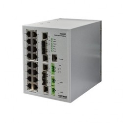 Comnet RLGE20FX4TX16MS/LV Dual Redundant 20-Port Managed Switch