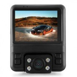RVS Systems RVS-875-DL 2.4-Inch Dual Lens Full HD Dash Camera