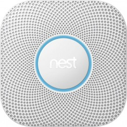 Google Nest S3004PWBUS Protect Smoke/CO Alarm 2nd Generation, Battery