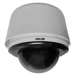 Pelco S6230-EGL0 2 Megapixel Spectra Enhanced Low Light HD Pendant Environmental Network PTZ Dome Camera, 30X, Smoked, Gray