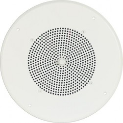 Bogen S86T725PG8U Ceiling Speaker Assembly with Bright White Grille