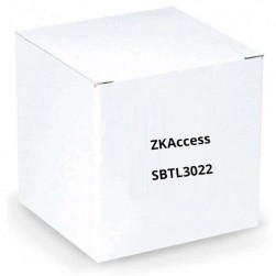 ZKAccess SBTL3022 Single Lane Swing Barrier Turnstile with Controller, Fingerprint and RFID Reader