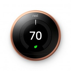 Google Nest T3021US Learning Thermostat 3rd Generation, Copper