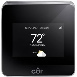 Interlogix TP-WEM01-A Carrier Cor Performance Series AC/HP Wi-Fi Thermostat