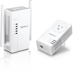TRENDnet TPL-430APK WiFi Everywhere Powerline 1200 AV2 Wireless Kit