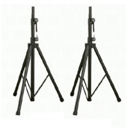 Bosch TSP-1 Tripod Speaker Stands and Dual Tripod Speaker Stand Carry Bag