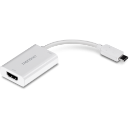 TRENDnet TUC-HDMI2 USB-C to HDMI Adapter with Power Delivery